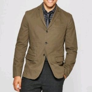 Goodfellow & Co Mens Washed Twill Blazer